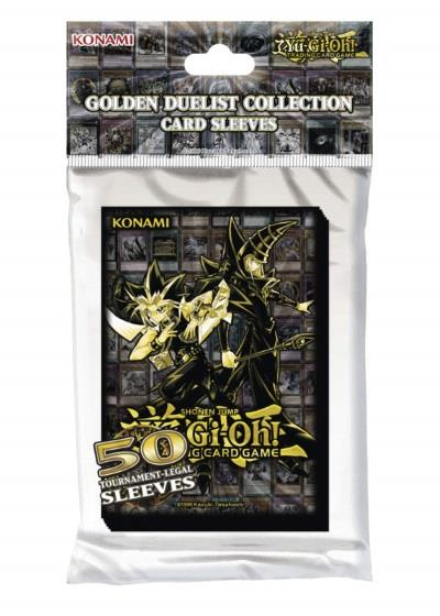 Yu-Gi-Oh! Card Sleeves Golden Duelist (50)