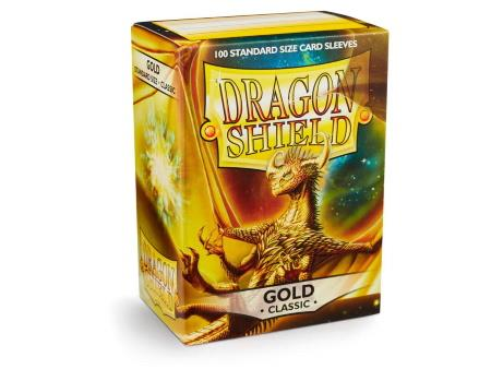 Dragon Shield Sleeves Gold (100)