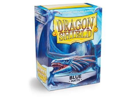 Dragon Shield Matte Sleeves Blue (100)