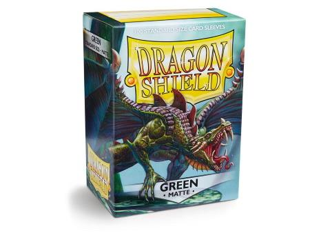 Dragon Shield Matte Sleeves Green (100)