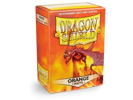 Dragon Shield Matte Sleeves Orange (100)