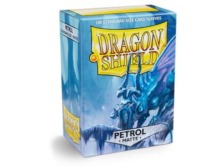 Dragon Shield Matte Sleeves Petrol (100)