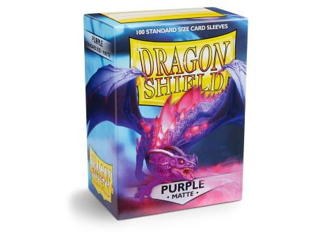 Dragon Shield Matte Sleeves Purple (100)