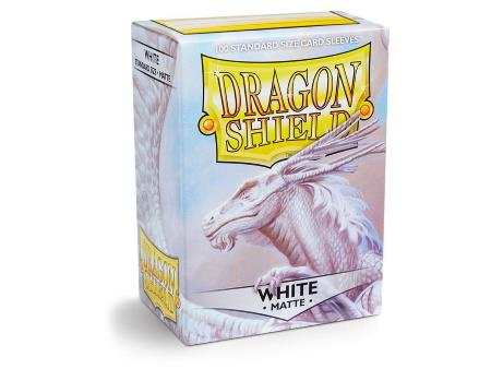 Dragon Shield Matte Sleeves White (100)