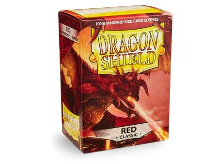 Dragon Shield Sleeves Red (100)