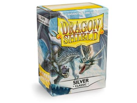 Dragon Shield Sleeves Silver (100)