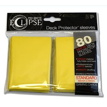 Ultra Pro Eclipse Sleeves Yellow (80)