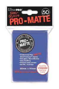 Ultra Pro Matte Sleeves Blue (50)