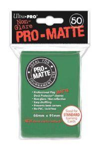 Ultra Pro Matte Sleeves Green (50)