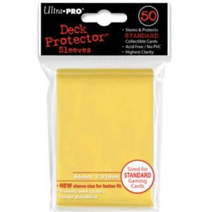 Ultra Pro Deck Protector Yellow (50)