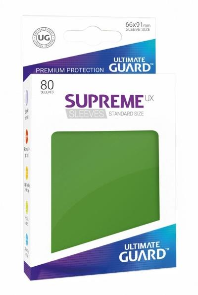 Ultimate Guard Supreme UX Sleeves Green (80)