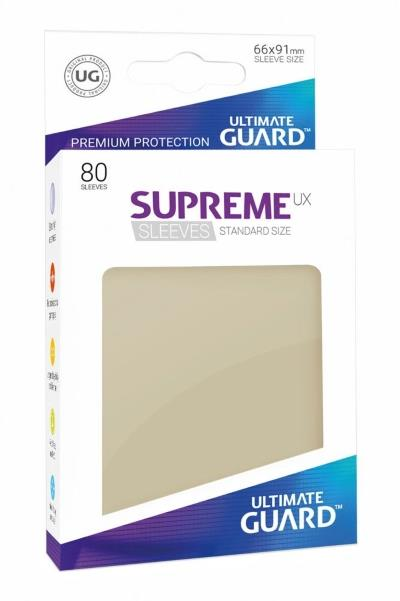 Ultimate Guard Supreme UX Sleeves Sand (80)