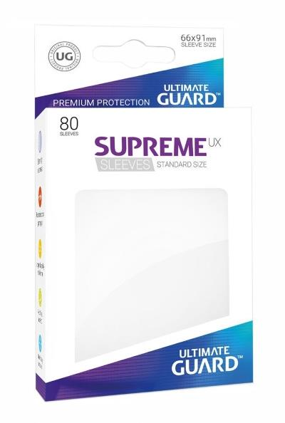 Ultimate Guard Supreme UX Sleeves White (80)