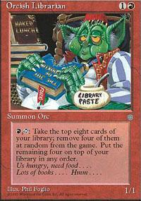 Orcish Librarian